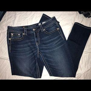 Miss Me signature rise skinny jeans,